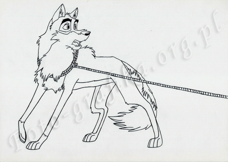 Images of Balto Coloring Pages Steele - #SpaceHero